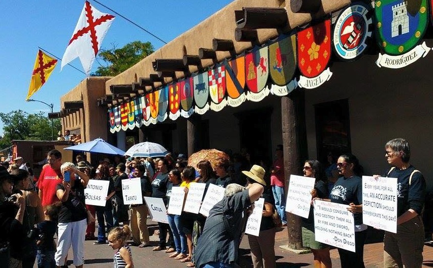 September 11, 2015: Santa Fe Fiesta Nonviolent Demonstration